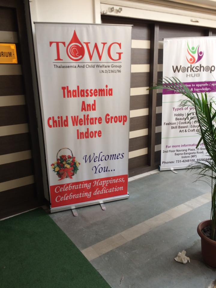 TCWG organised very successful HLA matching camp with the help of Dr J S Arora from delhi .
