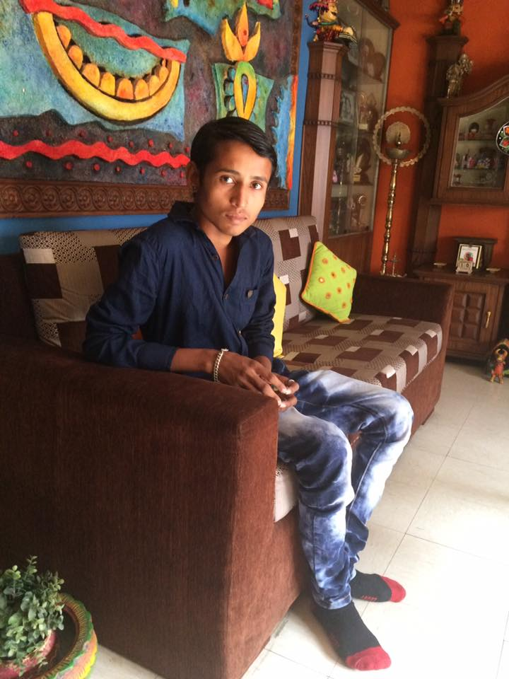 Unbeliable he was just six when he came first time to TCWG now he is 18 a young boy with care of his grandfather & medicinal support by us he is leading a healthy life Yes he is a patient of suckle cell anemia he is Mithun