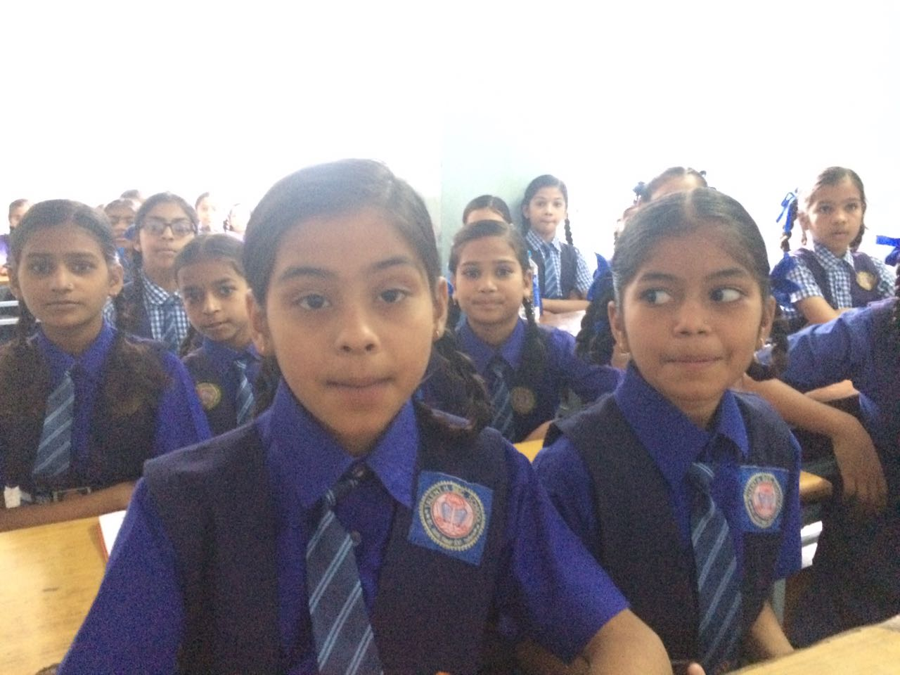 11th episode of Beti bachao Beti padhao aur use samjhao in talent higher sacondry school Sanyojak pushpa agrawal