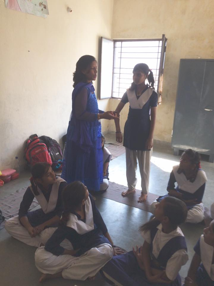 TCWG is worried about increasing no of rape cases & cases of sexual abuse with teen age girls so we started a awareness campian Beti bachao Beti padhao aur use samjhao , girls of class 6 to 8 of gov school no 124 attended the first session , I informed them about safe & unsafe touch , Farida Kaul about tricks to defend when attacked by some body , chanda sharma about what small things should be in school bags of every girl to defend in such situation & purnima raut about what can be the act by close relatives to trap girls , over all we touched every aspect by simple conversation ,