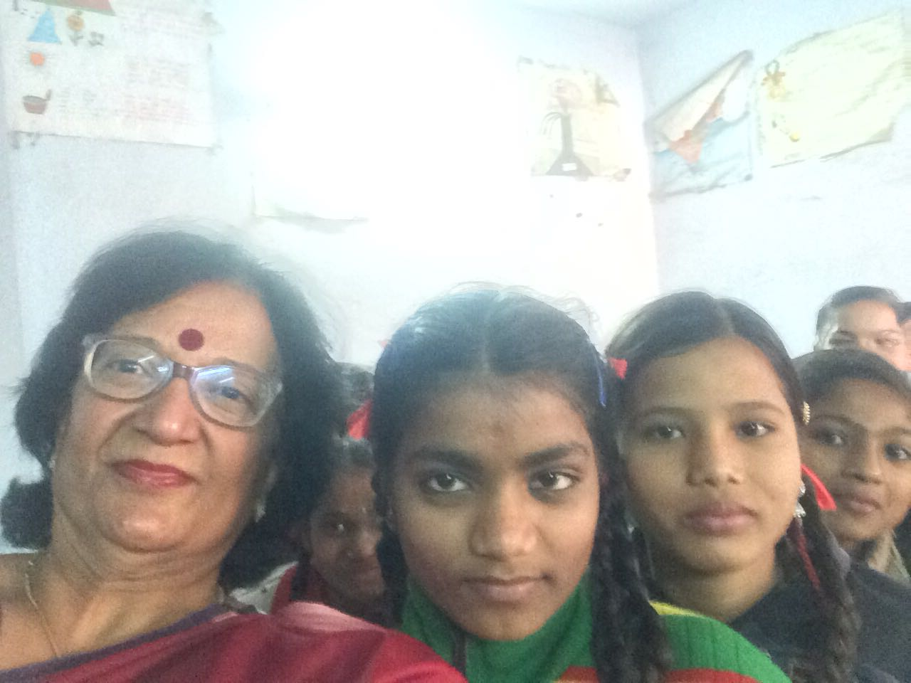 Fifth episode of Beti bachao Beti padhao aur use samjhao in gov girls school khajrana indore , myself with dr Archana Shrivastav sunita Saxena & firdose Nahid talked with girls & covered all points about protection ,awareness from sexual abuse