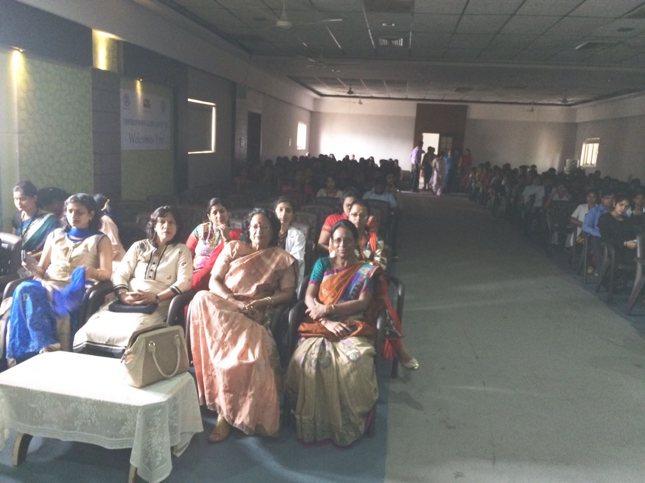 Program in Choitram college of nursing on 4 thanks to Sudha Chauhan Asha Jakad Farida Kaul for judging the skit competition & purnima 4 joining with Rajni Bhandari